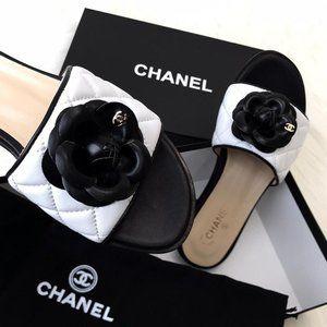 Chanel Camellia Flower sandal